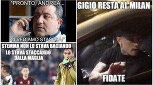 Milan, Donnarumma non rinnova: reazioni social furiose dei tifosi rossoneri
