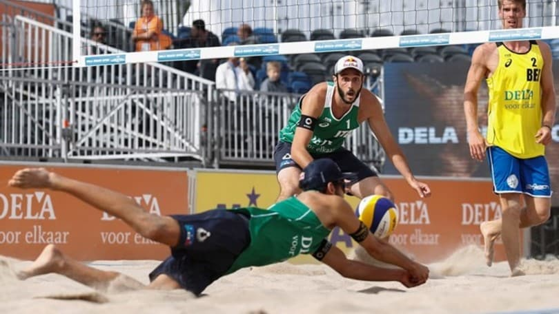 Beach Volley: Lupo-Nicolai in semifinale all'Aia