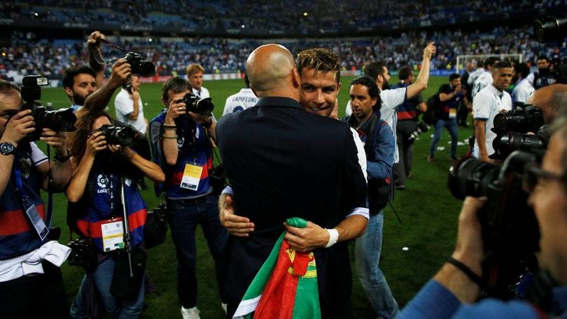 Telenovela Cristiano Ronaldo, entra in scena Zidane