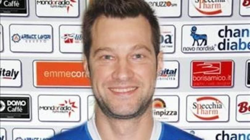 Volley: A2 Maschile, Matej Cernic porta la sua esperienza a Tuscania