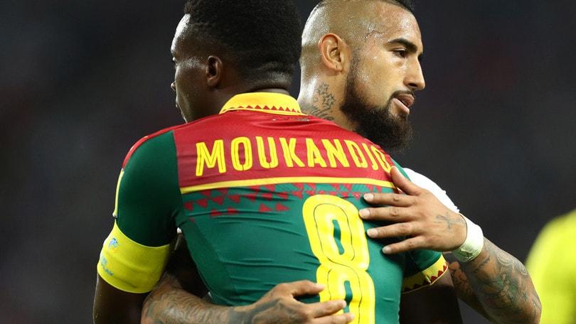 Camerun-Cile 0-2: decidono Vidal e Vargas