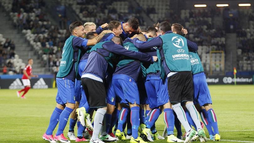 Europei Under 21: Buona la prima per l'Italia