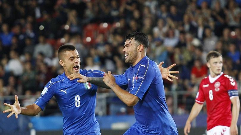 Europei Under 21: Italia, il primo posto nel girone vale 2,15