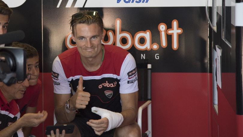 SBK Ducati, Davies: «Obiettivo correre a Laguna Seca»