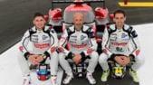 Barthez, l'ex portiere della Francia pilota a Le Mans: foto