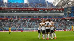 Confederations Cup: Australia-Germania 2-3, le immagini della partita