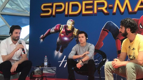 Spider-Man Homecoming, Tom Holland a Roma: