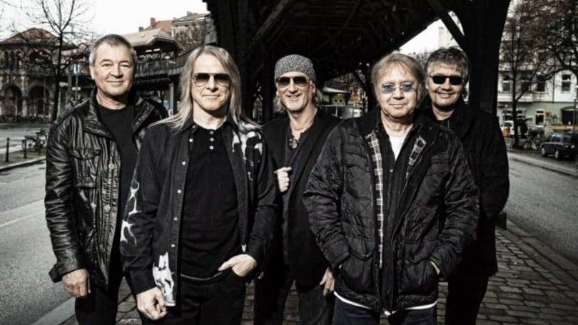 Deep Purple a Roma con il tour d'addio