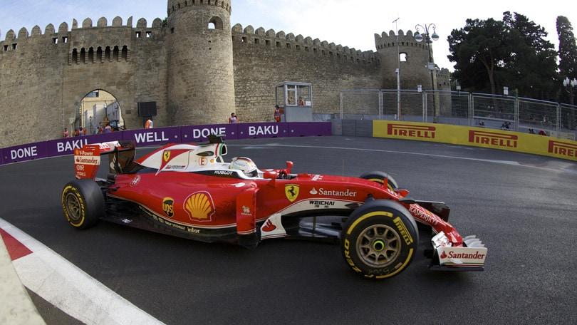 GP Baku F1 2017: le previsioni meteo dell'Azerbaijan