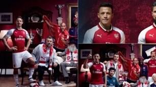 """Arsenal, il caso della nuova maglia: Sanchez e Ozil """"photoshoppati"""""""