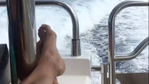 Verratti in barca in attesa del Barcellona