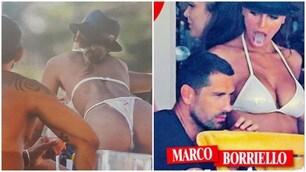 Borriello e Cristina Buccino, che feeling a Ibiza!