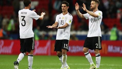 Germania-Cile 1-1, Stindl risponde a Sanchez