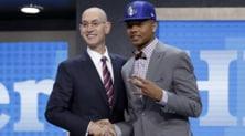 Draft NBA: Fultz ai Sixers, Ball ai Lakers