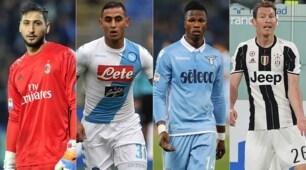 Calciomercato, liberi nel 2018: i top 50 col contratto in scadenza