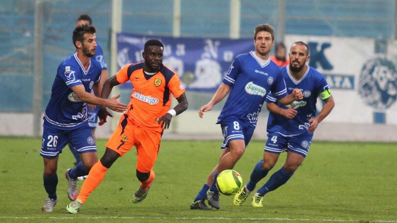 Calciomercato Fidelis Andria: preso Pipoli. Rinnovano Allegrini e Cilli