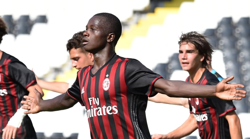 Al Milan lo scudetto under 16: Roma travolta 5-2