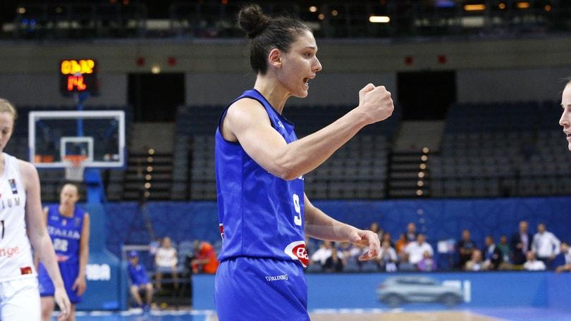 Nazionali 2016-17: Super Zandalasini nel quintetto ideale all'EuroBasket Women 2017