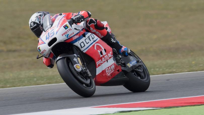 MotoGp, Assen: a Redding le terze libere, Rossi secondo