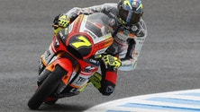 Moto2, Assen: paura Baldassarri, Morbidelli in pole