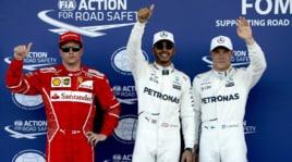 Formula 1: show di Hamilton a Baku, le Ferrari inseguono