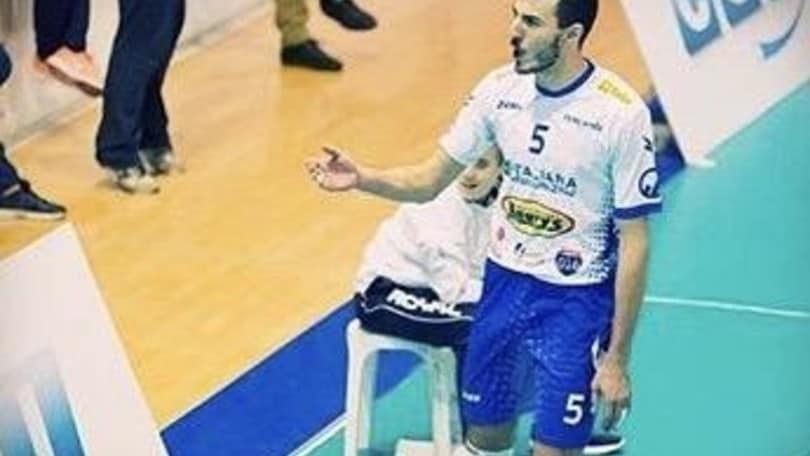 Volley: A2 Maschile, a Reggio Emilia il centrale Nicola Sesto