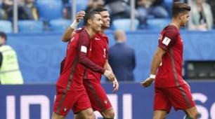 Confederations Cup: Nuova Zelanda-Portogallo 0-4, le immagini del poker
