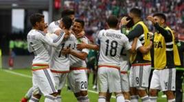 Confederations Cup: Messico-Russia 2-1. Le immagini della vittoria