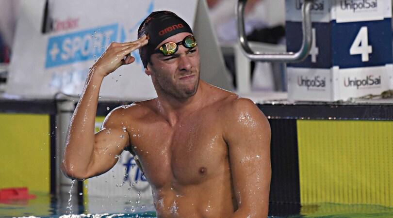 Nuoto Sette Colli, Paltrinieri vince i 1500 sl: «Ci vediamo a Budapest»