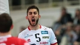 Volley: Superlega, a Ravenna il giovane Tiziano Mazzone