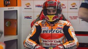 MotoGp Assen, Marquez: «Prima fila era l'obiettivo»