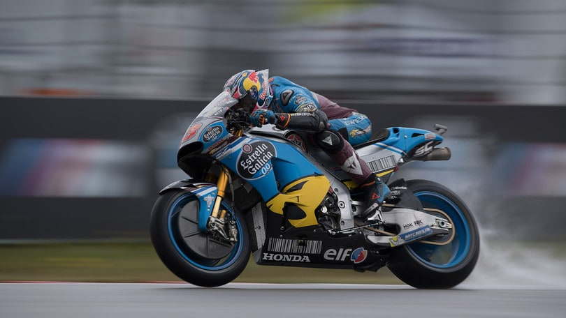 MotoGp Assen, Warm Up: Miller davanti, Rossi decimo sul bagnato