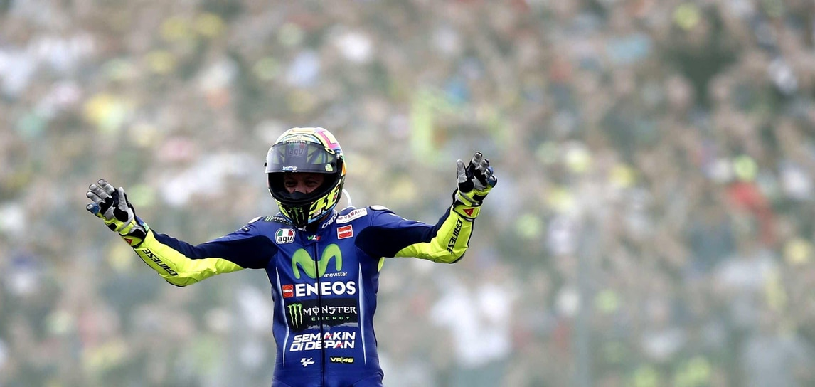 MotoGp Yamaha, Rossi: «Assen speciale! Non poteva andare meglio»