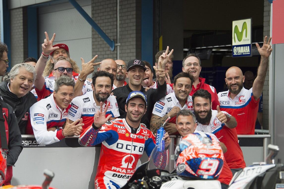 MotoGp Assen, Petrucci: «Contento, ma potevo vincere»