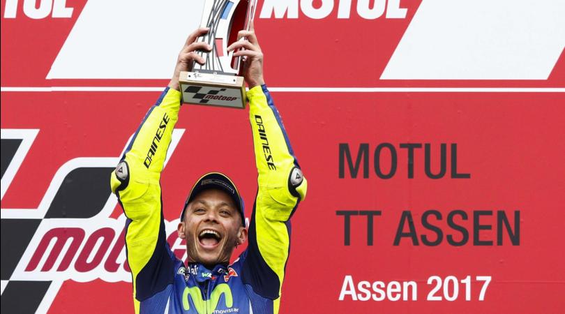 Show Italia ad Assen: Valentino Rossi torna a vincere