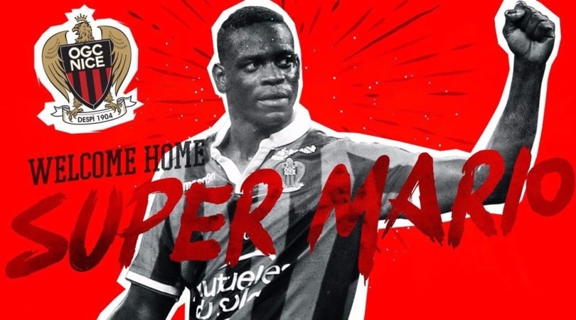 Ligue 1, ufficiale: Balotelli rinnova con il Nizza