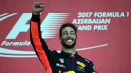 F1 Baku: Hamilton e Vettel litigano, vince Ricciardo