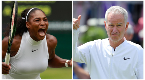 Tennis, McEnroe a Serena Williams: «Tra gli uomini saresti 700ª»