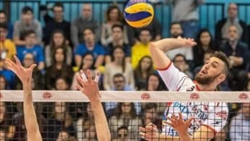 Volley: Superlega, linea verde a Ravenna con Marco Vitelli
