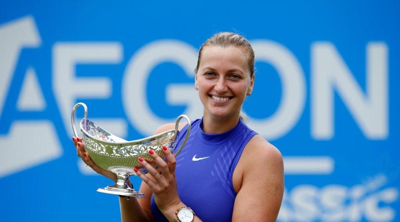 Tennis: Kvitova saluta Eastbourne, problemi addominali