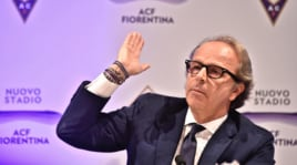 Fiorentina, striscione contro i Della Valle