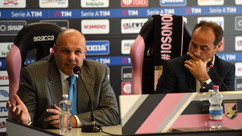 Palermo, Tedino: «Grande accoglienza, ritroviamo entusiasmo»