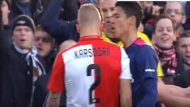 Prima rivali, ora compagni: tensione in campo tra Karsdorp e Moreno