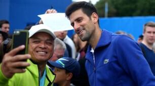 Tennis, Djokovic avanti a Eastbourne: battuto Pospisil