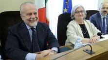 Napoli, De Laurentiis: «Nel calcio bisogna fare tabula rasa»