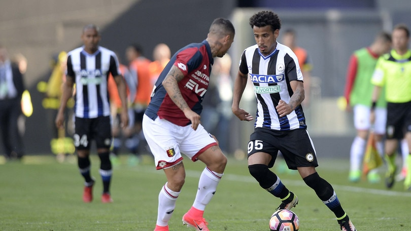 Calciomercato Udinese, Evangelista e Vutov via in prestito