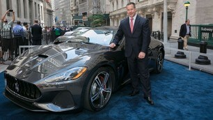 Maserati Gran Turismo MC, il debutto è a Wall Street