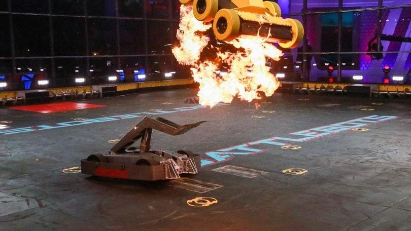 Battlebots, botte e show tra robot