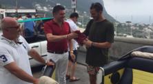 Bonucci a Capri, che regalo dai tifosi del Torino!