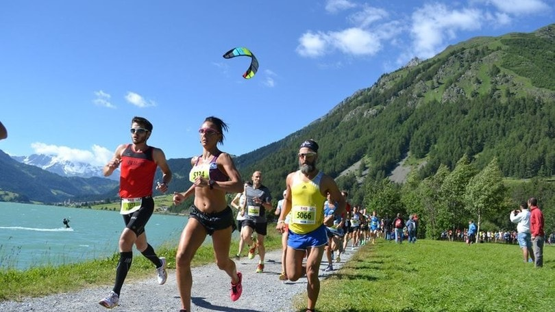 Eliana Patelli, la regina del Giro Lago di Resia